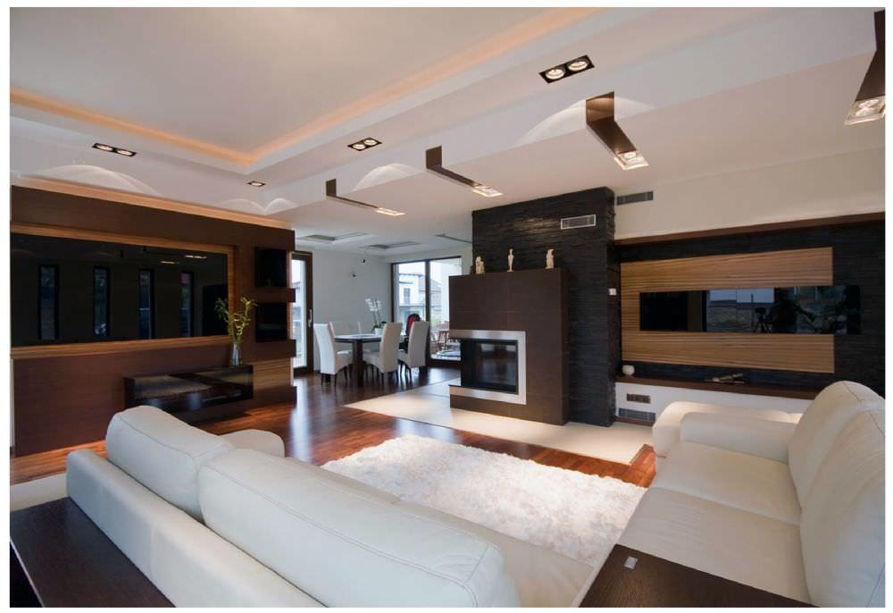 Alçı ve alçıpan ürünleri ile çeşitli tavan dekorasyonları yapabilirsiniz.