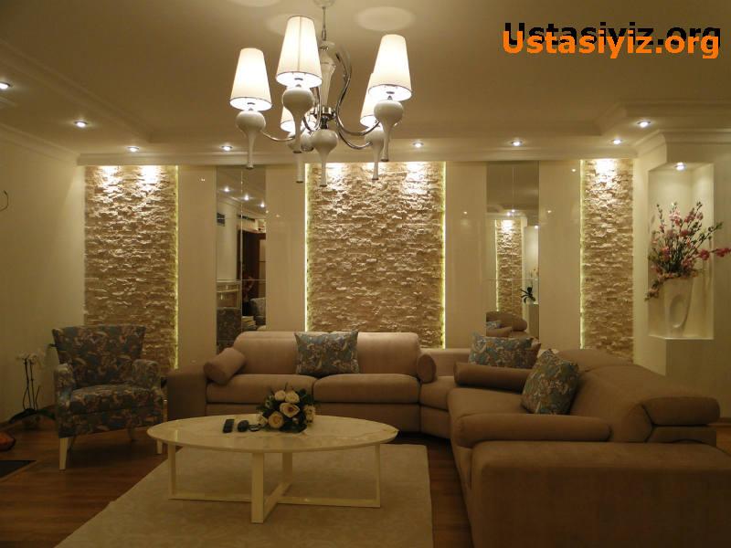 Salon dekorasyonu modeli, dekorasyon fikirleri